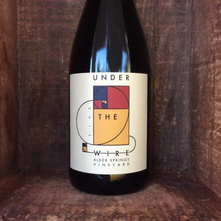 Under the Wire Alder Springs Vineyard Sparkling Chardonnay  2013
