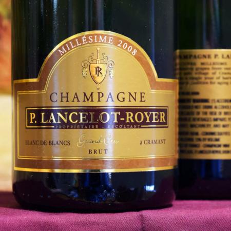 P. Lancelot-Royer Millésimé Brut Blanc de Blancs Champagne Chardonnay 2008