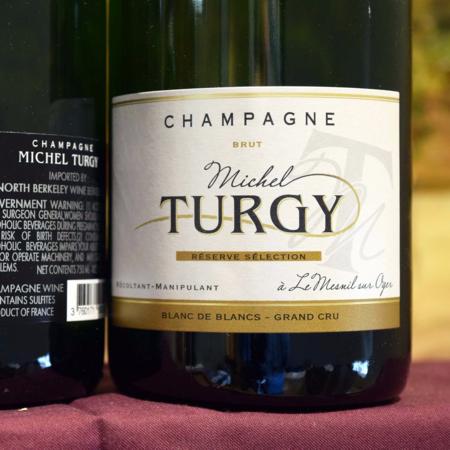 Michel Turgy Réserve Sélection Brut Blanc de Blancs Grand Cru Champagne Chardonnay NV