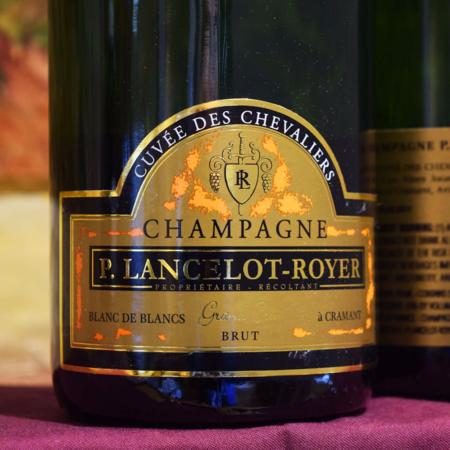 P. Lancelot-Royer Cuvée des Chevaliers Blanc de Blancs Brut Grand Cru Brut Champagne Chardonnay NV