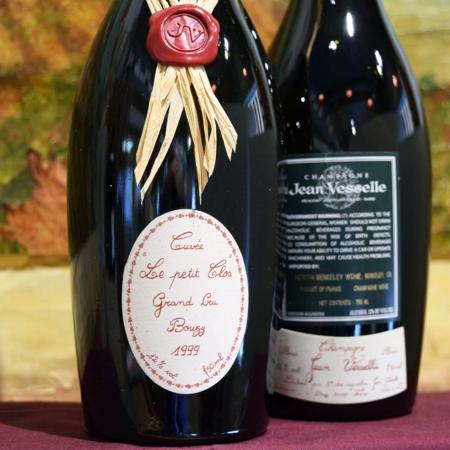 Jean Vesselle Le Petit Clos Grand Cru Champagne Pinot Noir  1999