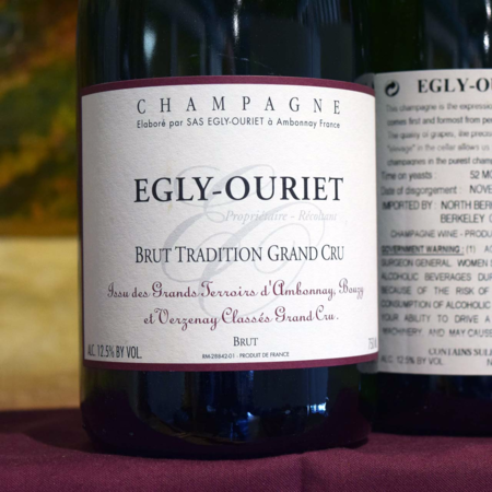 Egly-Ouriet Brut Tradition Grand Cru Champagne Blend NV