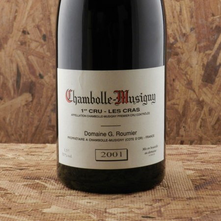 Domaine Georges Roumier Les Cras Chambolle-Musigny 1er Cru Pinot Noir 2001 (1500ml)