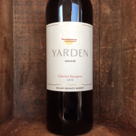 Golan Heights Winery Yarden Galilee Cabernet Sauvignon 2012