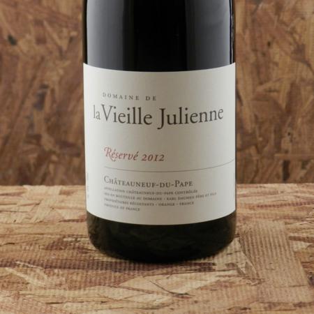 Domaine de la Vieille Julienne Reserve Châteauneuf-du-Pape Red Rhone Blend 2012