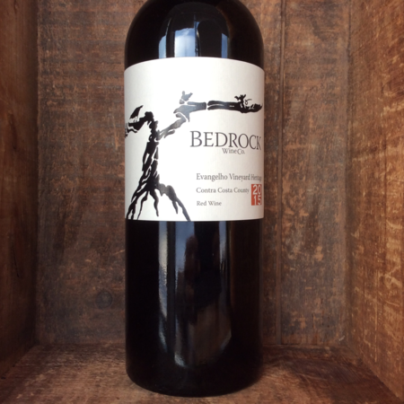 Bedrock Wine Co. Evangelho Vineyard Heritage Zinfandel Blend 2015