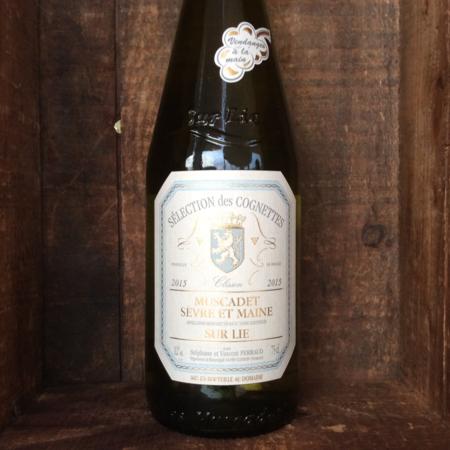 Selection des Cognettes Muscadet Sevre-et-Maine Sur Lie Melon de Bourgogne 2015