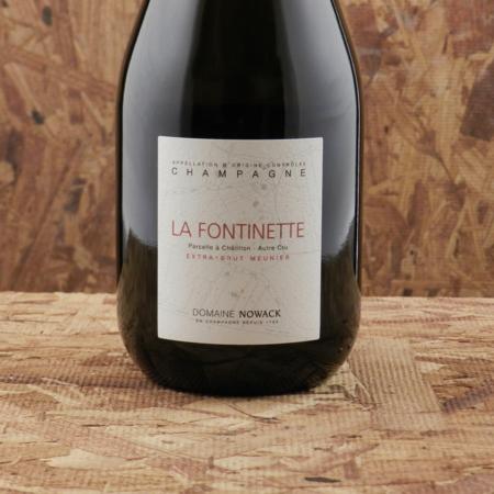 Famille Nowack La Fontinette Extra Brut Champagne Meunier NV