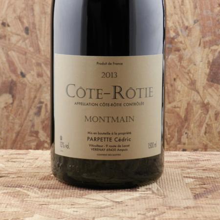 Cédric Parpette Le Montmain Cote-Rotie Syrah 2013 (1500ml)