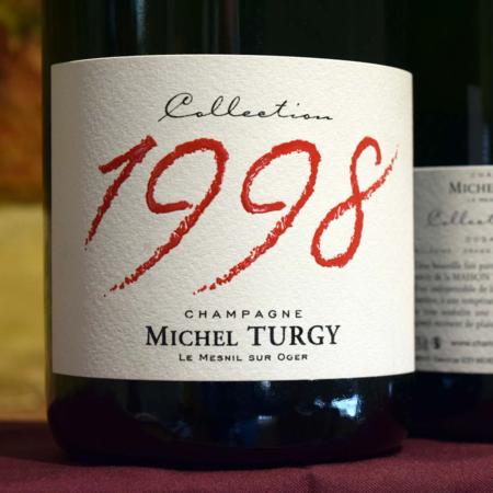 Michel Turgy Millésimé Blanc de Blancs Champagne Grand Cru Dosage Zero  1998