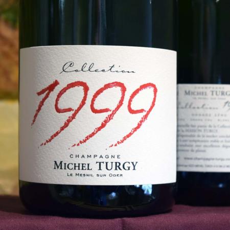 Michel Turgy Millésimé Blanc de Blancs Champagne Grand Cru Dosage Zero  1999