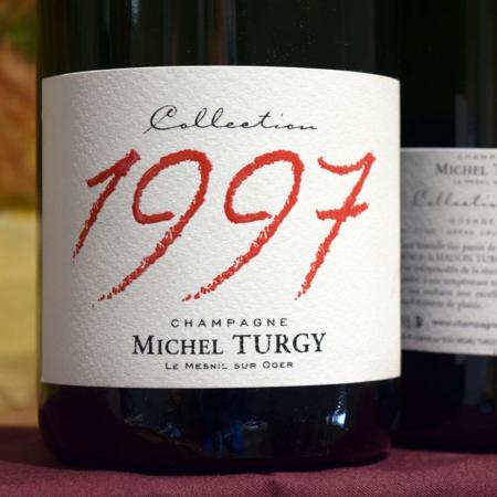Michel Turgy Millésimé Blanc de Blancs Champagne Grand Cru Dosage Zero  1997