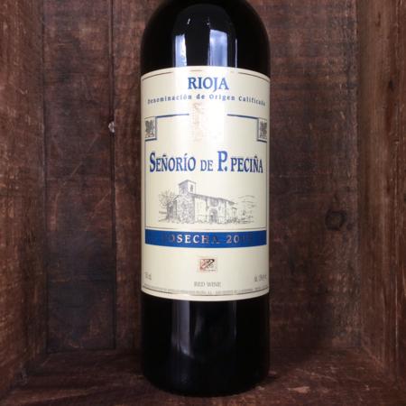 Bodegas Hermanos Peciña Señorío de P. Peciña Cosecha Rioja Tempranillo Blend 2013