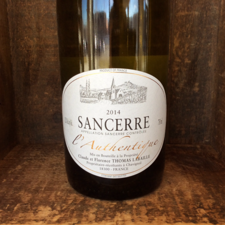 Thomas-Labaille L'Authentique Sancerre Sauvignon Blanc 2014