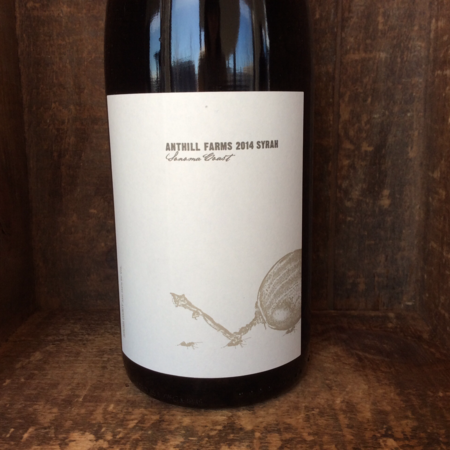 Anthill Farms Sonoma Coast Syrah 2014