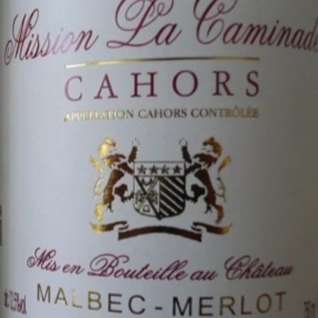 Château la Caminade Mission La Caminade Cahors Malbec Merlot 2015