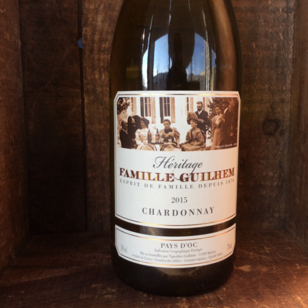 Famille Guilhem Heritage Pays D'Oc Chardonnay 2015