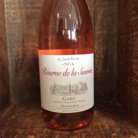 Laudun Chusclan Vignerons Réserve de la Saurine Vin de Pays du Gard Rosé Blend 2016