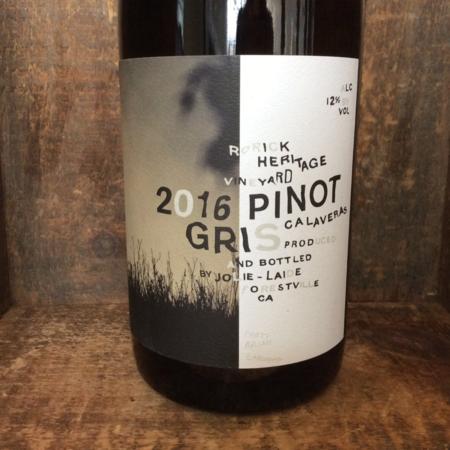 Jolie-Laide Wines Rorick Heritage Vineyard Pinot Gris 2016