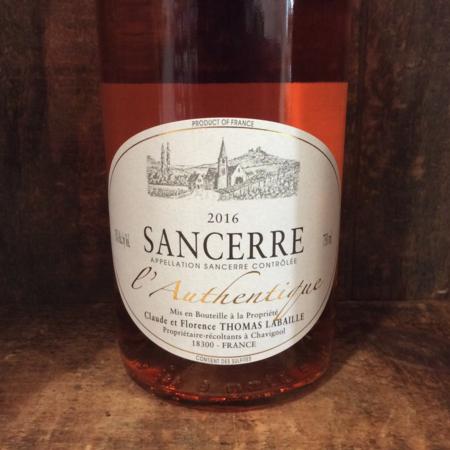 Thomas-Labaille L'Authentique Sancerre Rosé Pinot Noir 2016