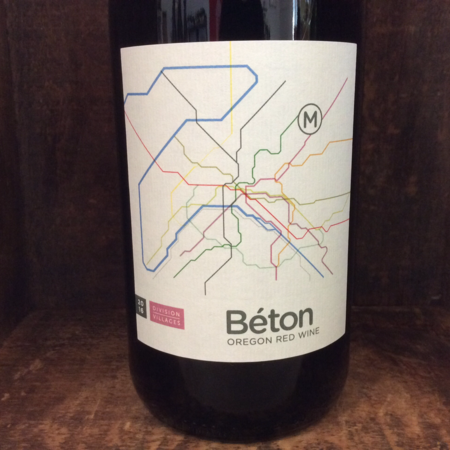 Division Winemaking Company Division Villages Béton Oregon Red Blend 2016