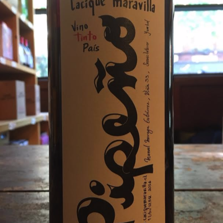 Cacique Maravilla Pipeño Cot Blend 2016 (1000ml)