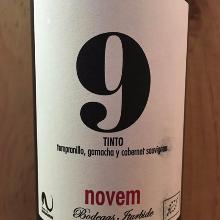 Bodegas Iturbide Novem 9 Tempranillo Blend 2015