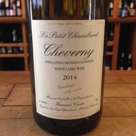 François Cazin (Le Petit Chambord) Cheverny Sauvignon Blanc Blend 2016