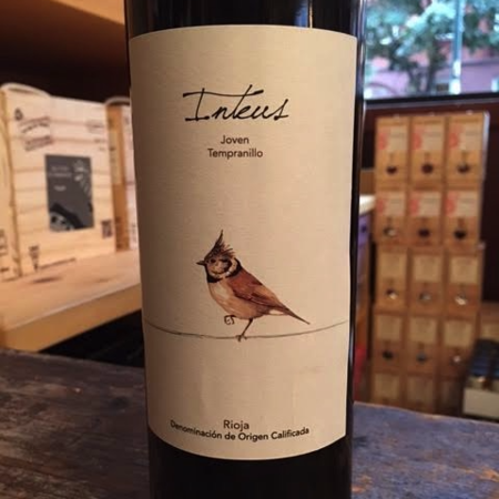 Bodegas y Viñedos Inteus Aviadores del Terruño Joven Rioja Tempranillo 2016