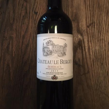 Château le Bergey Red Bordeaux Blend 2015