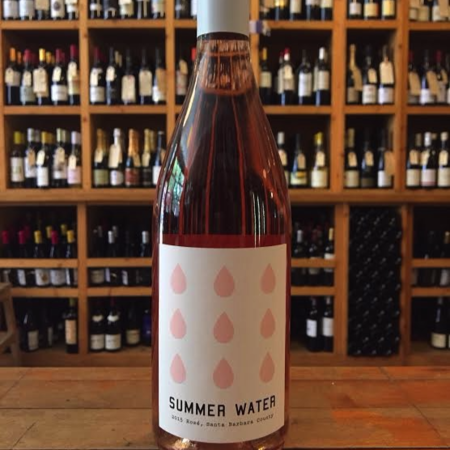 Summer Water Yes Way Rosé Santa Barbara County Rosé Blend 2016