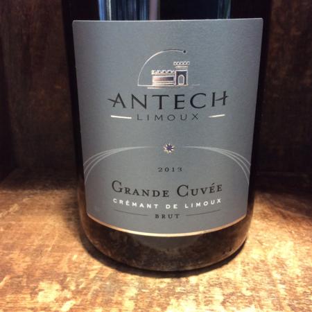 Antech Grande Cuvée Brut Crémant de Limoux Chardonnay Blend 2013