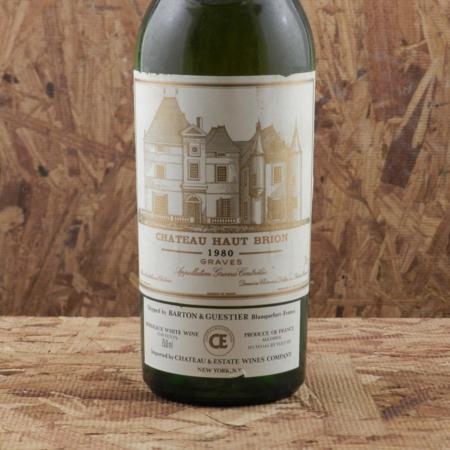 Château Haut-Brion Pessac-Léognan Sémillon-Sauvignon Blanc Blend 1980