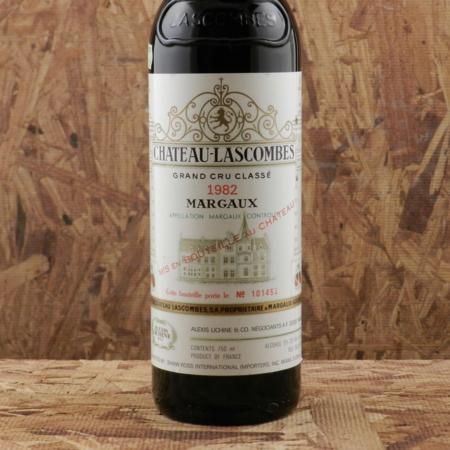 Château Lascombes Margaux Red Bordeaux Blend 1982