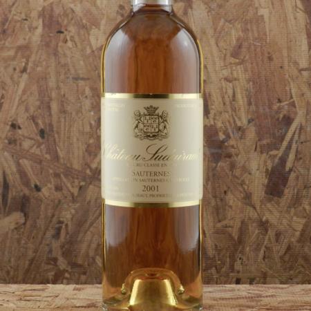 Château Suduiraut Sauternes Sémillon-Sauvignon Blanc Blend 2001