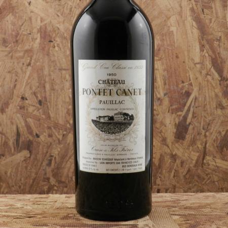 Château Pontet-Canet Pauillac Red Bordeaux Blend 1950 (1500ml)