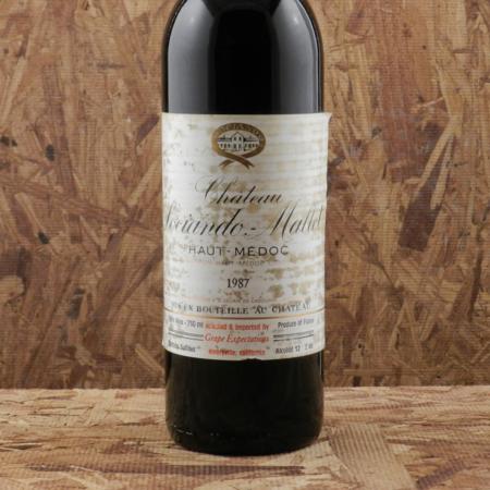 Château Sociando-Mallet Haut-Médoc Red Bordeaux Blend 1987