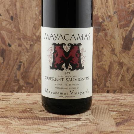 Mayacamas Vineyards Napa Mountain Cabernet Sauvignon 1971