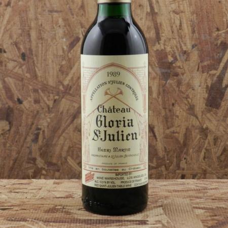 Château Gloria  Saint-Julien Red Bordeaux Blend 1989 (375ml)