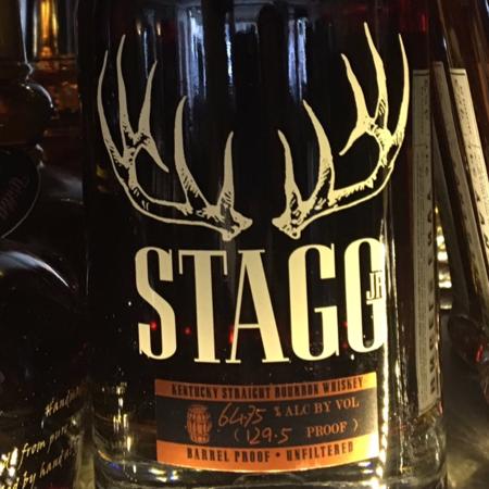 Buffalo Trace Distillery Stagg Jr. Kentucky Straight Bourbon Whiskey NV