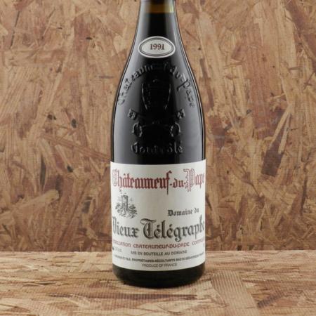 Domaine du Vieux Télégraphe Châteauneuf-du-Pape Red Rhone Blend 1991