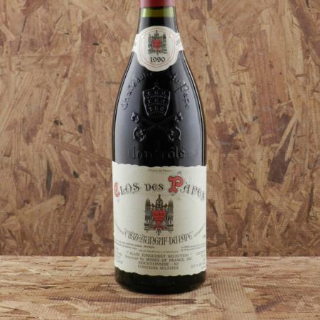 Clos des Papes Châteauneuf-du-Pape Red Rhône Blend 1990