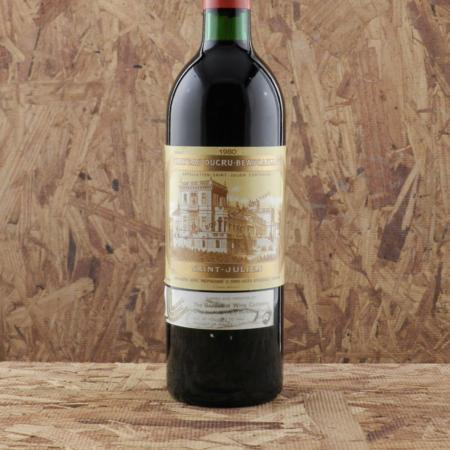 Château Ducru-Beaucaillou Saint-Julien Red Bordeaux Blend 1980