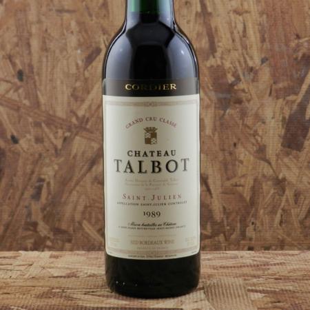 Château Talbot Saint-Julien Red Bordeaux Blend 1989 (375ml)