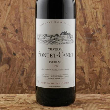 Château Pontet-Canet Pauillac Red Bordeaux Blend 1994
