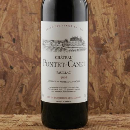 Château Pontet-Canet Pauillac Red Bordeaux Blend 1995