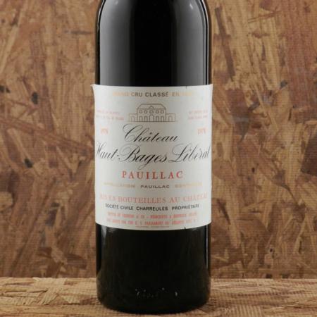 Château Haut-Bages Libéral Pauillac Red Bordeaux Blend 1978