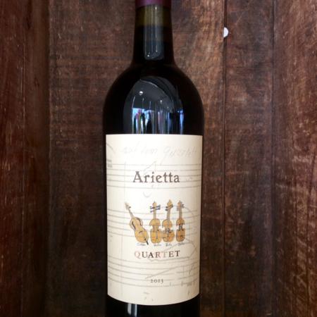 Arietta Quartet Merlot Cabernet Franc 2013