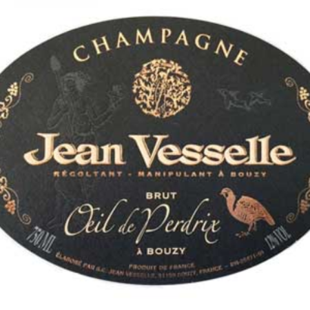 Jean Vesselle Oeil de Perdrix Blanc de Noirs Brut Champagne NV