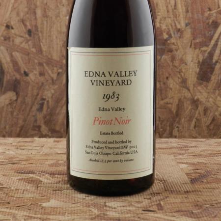 Edna Valley Vineyard Estate Edna Valley Pinot Noir 1983